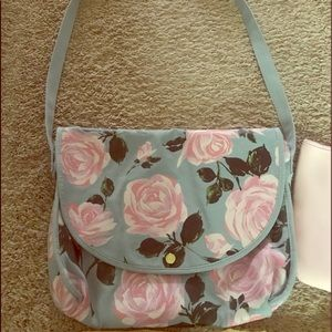 Floral Laptop Bag Satchel